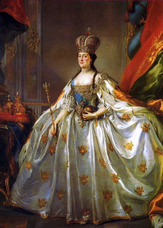 Throwback Thursday- Catherine the Great\'s Coronation Dress – My ...
