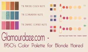 Glamourdaze-1950s-color-palette-blondes