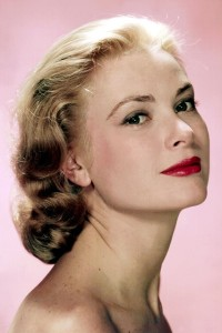 Grace Kelly Red Lips