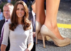 Kate nude sledge pumps