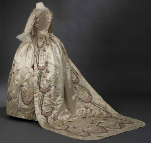 Marie Antoinette Gown Train