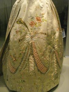 Marie Antoinette's Gown Bottom