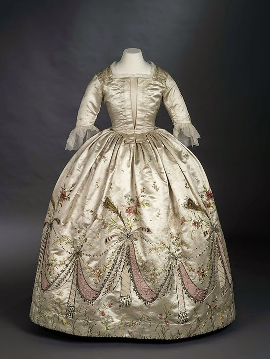 Marie Antoinette\'s Gown-Royal Ontario Museum – My Frugal Lady