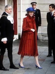 Princess Diana Pregnant