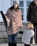 Princess Mary poncho
