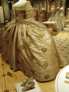 Side picture of Catherine's Dress with Shoes