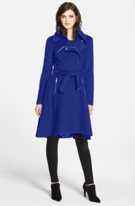 BCBGeneration zip trench coat