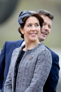 Crown Princess Mary tweed jacket