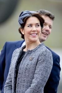 Crown Princess Mary tweed jacket