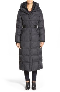 DKNY quilted down coat