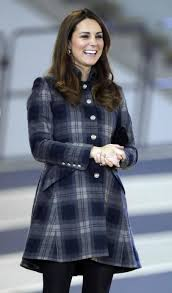 Duchess of Cambridge plaid Moloh coat