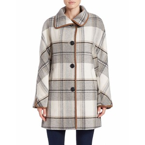 Ellen Tracy plaid coat