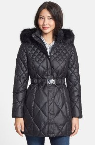 Guess quilted coat