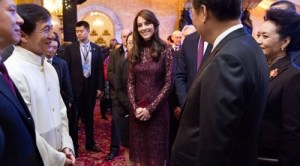 Kate and Jackie Chan