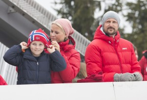 Norwegian Royals attend the Holmenkollen Ski Festival Featuring: Prince Sverre Magnus,Crownprincess Mette-Marit,Crownprince Haakon Where: Paris, France When: 09 Mar 2014 Credit: WENN.com **Not available for publication in France, Netherlands, Belgium, Spain and Italy. Available for the rest of the world.**