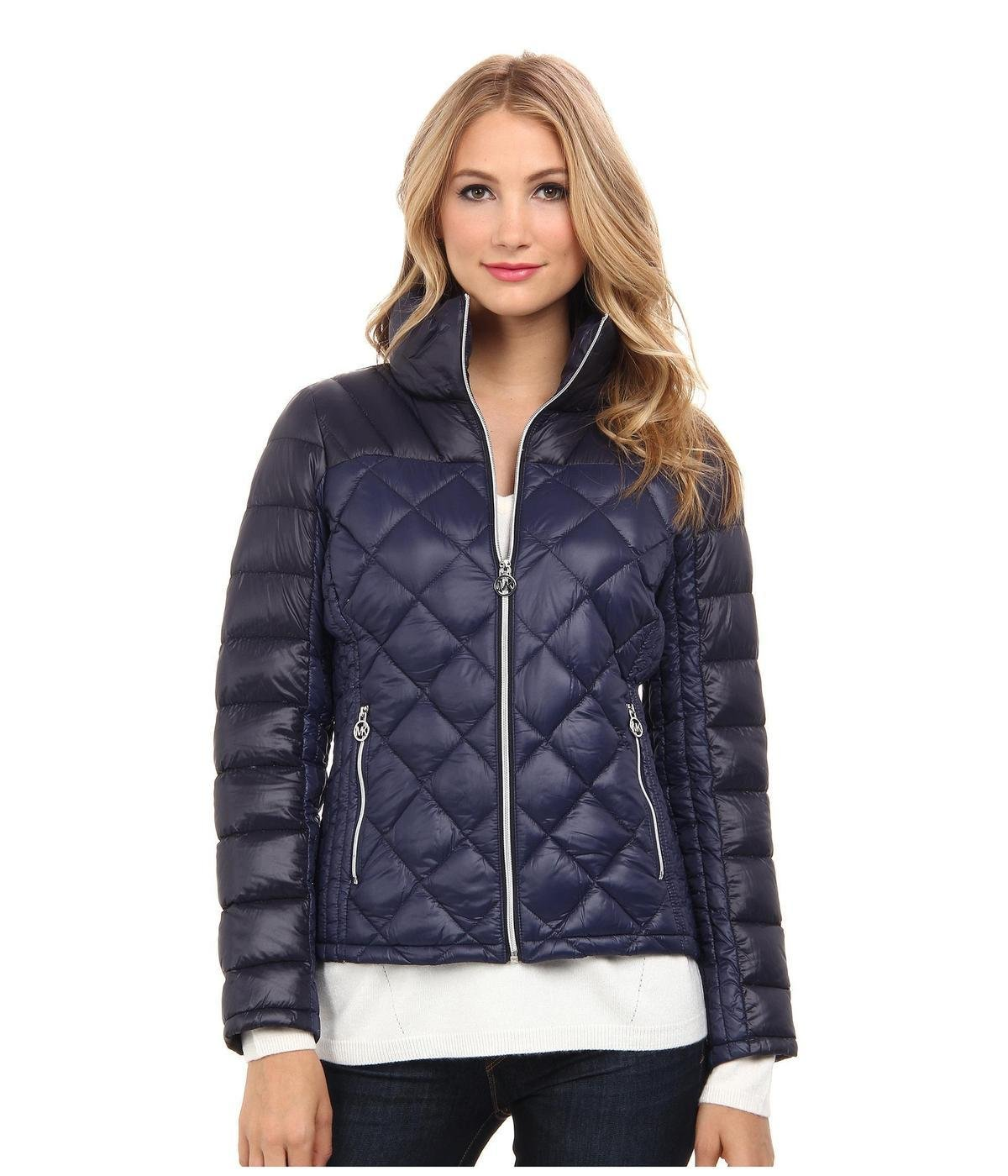 Black bubble jacket for womens
