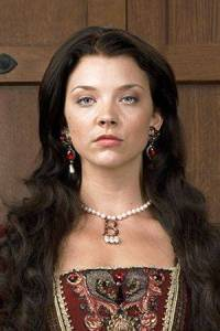 Natalie Dormer red earrings