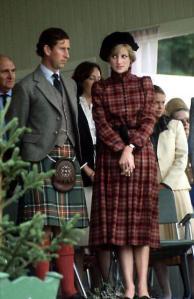 Princess Diana plaid