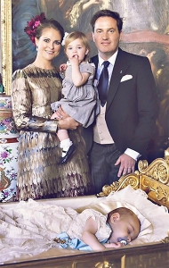 Princess Madeleine Christening