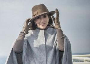 Princess Mary cape coat