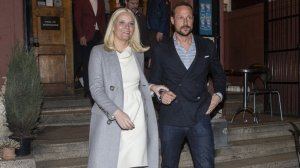 Princess Mette-Marit at the premiere of the documentary film in Oslo