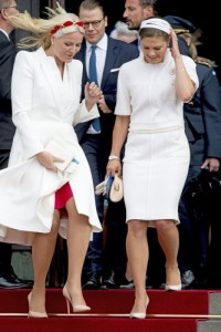 Princess Mette-Marit Valentino coat