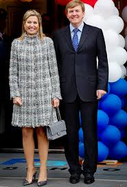Queen Maxima chanel tweed