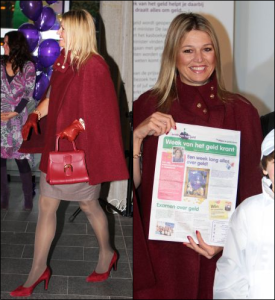Queen Maxima Zara cape