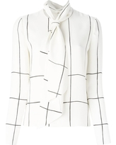 tory-burch-checked-pussy-bow-blouse