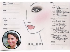 Bobbi Brown Kate Wedding