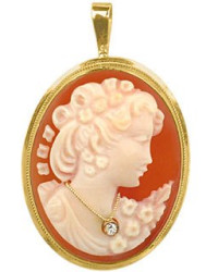 del-gatto-coral-woman-with-diamond-necklace-cornelian-cameo-pendant-pin-product-1-9953905-860478321