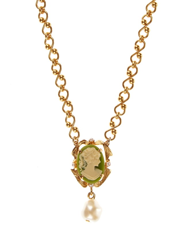 Dolce and Gabbana Cameo necklace