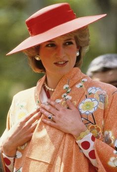 Princess Diana Japan, 1986