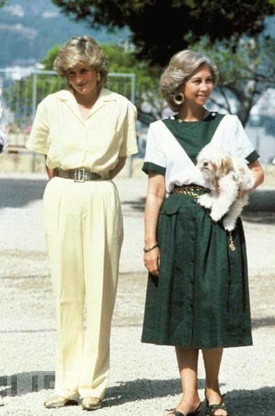 Princess Diana Queen Sofia