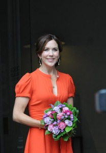 Princess Mary Orange Dress