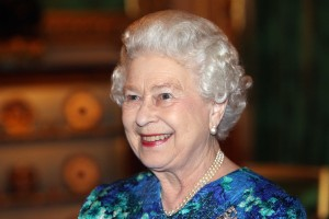 LONDON, ENGLAND - NOVEMBER 16: Queen Elizabeth II smiles as she is congratulated on the news of Prince Williams engagement to Kate Middleton during a reception for Leaders of the Overseas Territories at Windsor Castle on November 16, 2010 in London, England. (Photo by Lewis Whyld - WPA Pool/Getty Images)