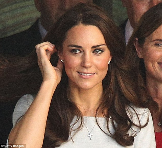 Kate Getty Images Via Daily Mail Grace Earrings