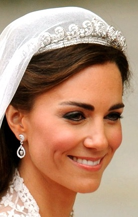 Kate wedding earrings