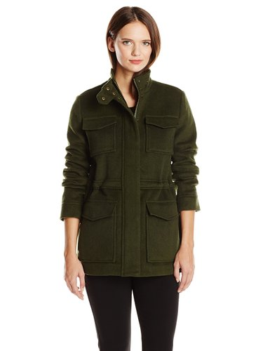 Lucky Brand military wool coat