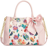 betsey-johnson-floral-satchel
