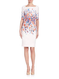 L.K. Bennet Multicolor floral dress